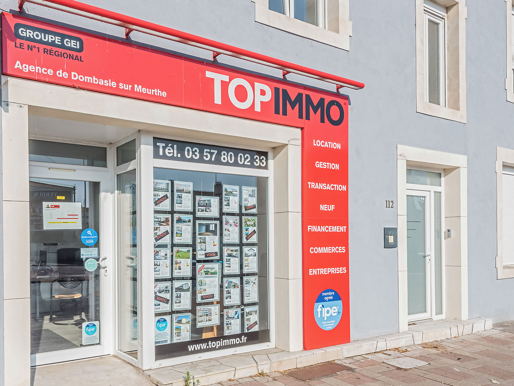 Agence immobilière DOMBASLE-SUR-MEURTHE
